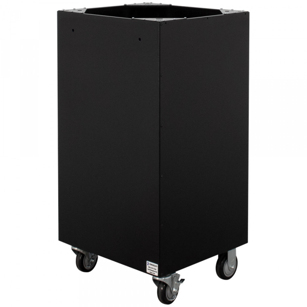 "24"" Rolling Collection Bin"