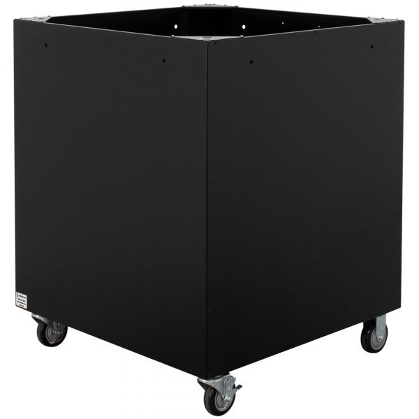 "38"" Rolling Material Collection Bin"