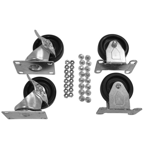 "3"" Replacement Caster Kit For Older 20/30/40 Series Carts"