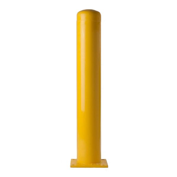 "6"" Yellow Bolt Down Bollard"