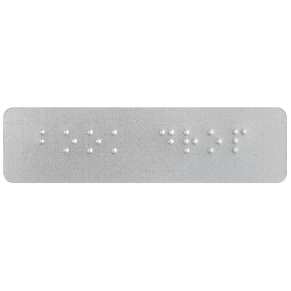 """Book Drop"" Braille Label"