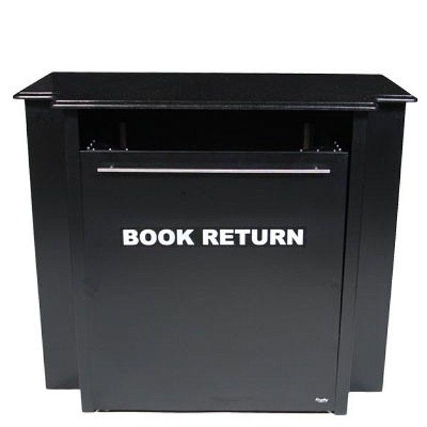 "48"" Traditional Indoor Designer Book Return - Status Bronze"