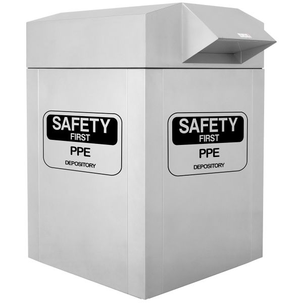 PPE Collection Bin for Resanitation