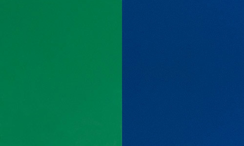 Trash and Recycling bin colors - Blue and Green