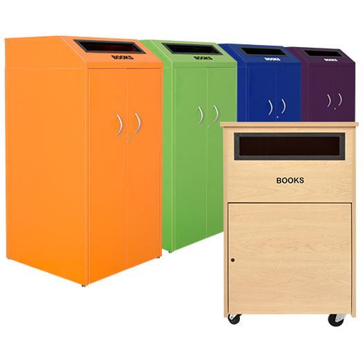 ColorWood Indoor Library Returns