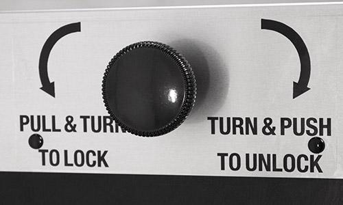Ease Single ThruWall lock
