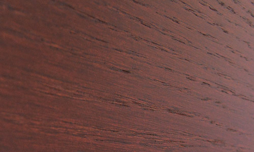 Close-up of oak veneer
