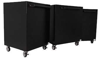 Group of 3 High Capacity carts