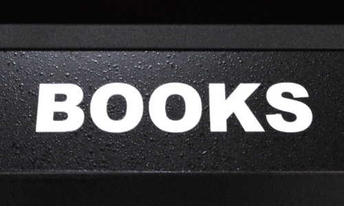 Books silkscreen on a DuraWood unit