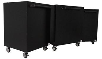 Group of 3 High Capacity carts